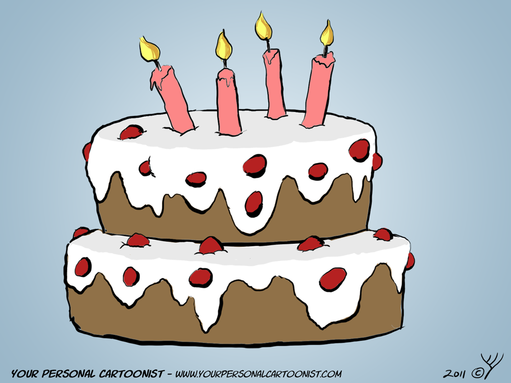 Cartoon Pics Of Birthday Cakes : Birthday Your Personal Cartoonist - Part 2