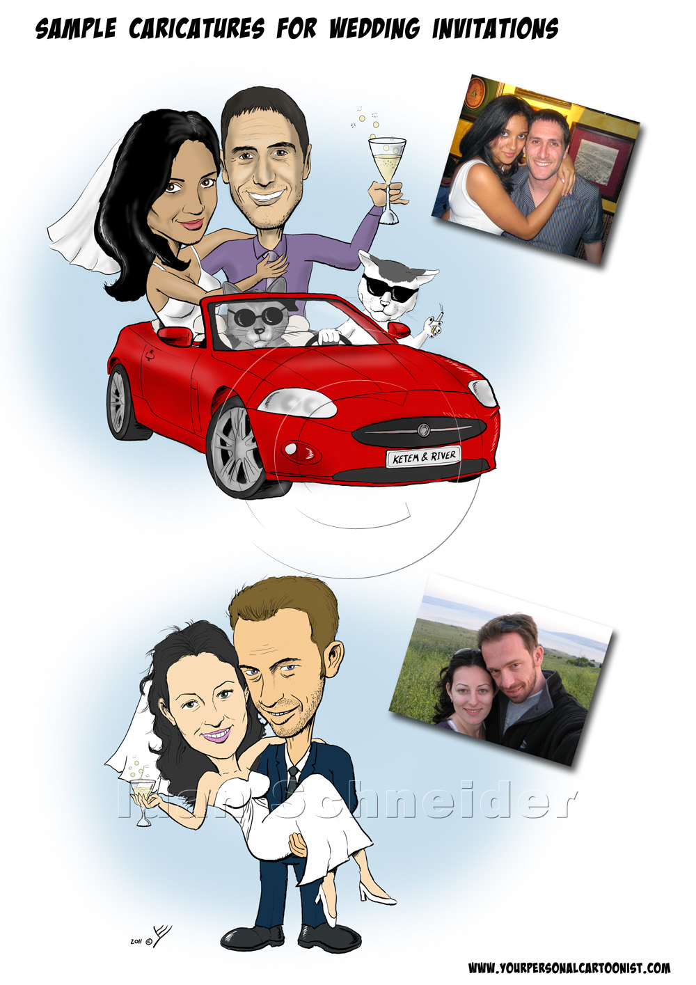 caricatures for wedding invitations your personal cartoonist - 28 ...