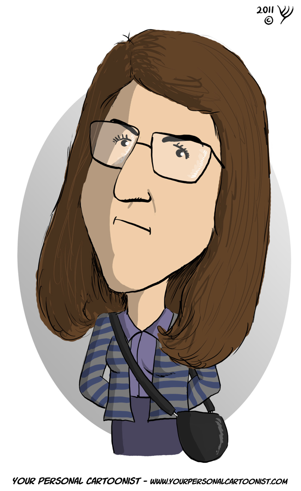 Big Bang Theory - Amy Farrah Fowler - Caricature