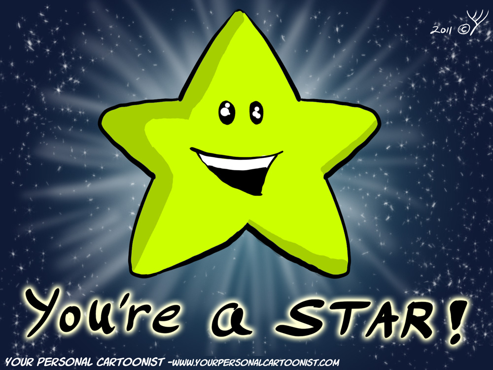You're a Star Birthday Clip Art